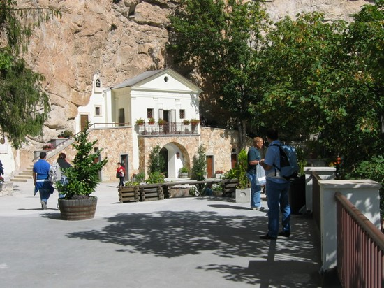 Sanctuary of the Holy Trinity in Vallepietra