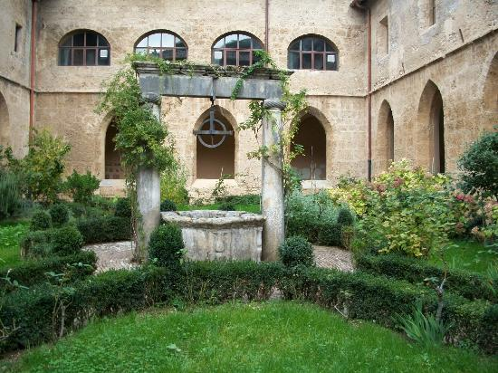 Cloister of the Abbey of St. Scholastica